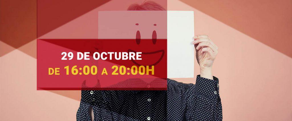 Taller sobre la Imagen personal como herramienta para tu éxito profesional. Organizado por AJE Valladolid el 29 de octubre de 2020